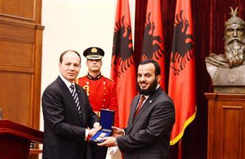 رئيس جمهورية البانيا: العمل الخيري الكويتي ساهم في تنمية البانيا طوال مسيرة تمتد لـ 25 عاما