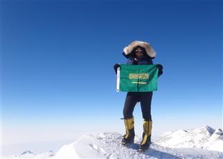 فيفا يحتفل بـ«رها محرق» أول فتاة سعودية تتسلق جبل «إفرست»