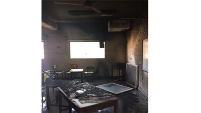 حريق بمدرسة «المبشرين».. واختناق طالبات