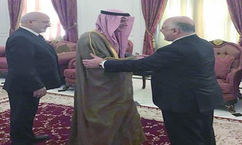 العراق وفد دبلوماسي يتوجه للسعودية غداً