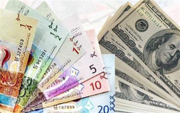 الدولار الأمريكي يستقر أمام الدينار عند 0.305 واليورو ينخفض إلى 0.324