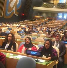 وفد  الكويت لدى الامم المتحدة يشيد بجهود المرأة في دعم مسيرة الوطن
