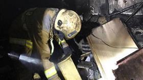 حريق يلتهم ملحق منزل في سلوى