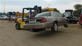 رفع 112سيارة مهملة بصناعية الفحيحيل