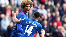 «اليونايتد» يتغلب على مضيفه ميدلزبره بثلاثة أهداف مقابل هدف