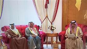 العاهل البحريني يشيد بدور سمو امير البلاد في تعزيز العلاقات بين البلدين