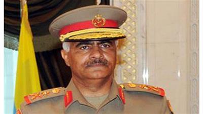 رئيس الأركان العامة للجيش الكويتى الفريق الركن محمد خالد الخضر