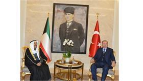 سمو أمير البلاد يصل إلى تركيا