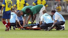 الكاميروني مارك فيفيان فويه توفي خلال كأس القارات عام 2003