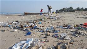 «الغوص»: حملة تطوعية لتنظيف مخلفات الأمطار