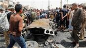 من تفجير سابق في بغداد