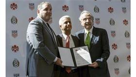 ترشيح مشترك أمريكي كندي مكسيكي لاستضافة مونديال 2026