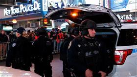 شرطة نيويورك في تايمز سكوير.سكاي نيوز