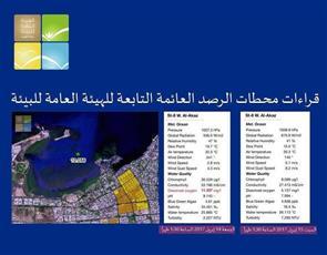 «البيئة»: عدم تسجيل أي تلوث أو نفوق نتيجة بقعة ميناء الشويخ