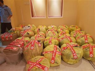 «البلدية»: مصادرة وإتلاف نصف طن من المواد المحظورة بالعاصمة