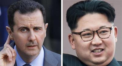 رسالة من زعيم كوريا الشمالية إلى بشار الأسد