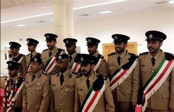 تخريج دفعة من الضباط الكويتيين في اكاديمية الشرطة بالشارقة