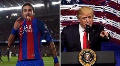 ترامب ونيمار من أكثر الشخصيات تأثيراً في العالم