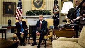مؤتمر صحفي بين ترامب ورئيس الوزراء الإيطالي