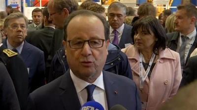 هولاند: خيوط إرهابية وراء اعتداء باريس