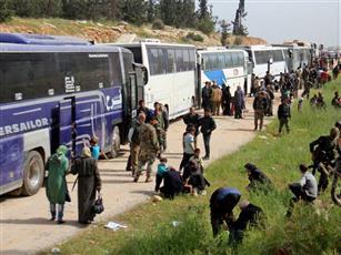 تنفيذ المرحلة الأولى من اتفاق المدن الأربع بسوريا