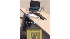 استياء بين طلبة الحقوق بسبب «أجهزة التشويش»