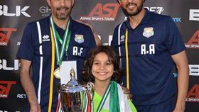 أكاديمية برازوكا تفوز بلقب بطولة «سباير» المقامة في دبي