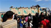 نازحون عراقيون في حمام العليل