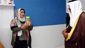 محافظ حولي يفتتح معرض الورش التعليمية بنات والغرفة الحسية في مدرسة السلوك التوحدي