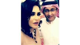 """""""سيلفي"""" يجمع عبدالمجيد عبدالله وأحلام"""
