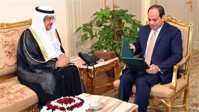 الرئيس السيسي يستقل عصام بن سعيد وزير الخدمة المدنية السعودي