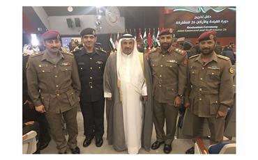 تخريج دفعة من الضباط الكويتيين في الإمارات