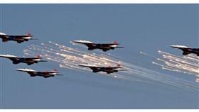 التلفزيون السوري: غارة للتحالف استهدفت إحدى النقاط العسكرية للجيش السوري