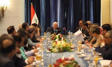 الرئيس العراقي: نهاية وجود «داعش» في العراق باتت قريبة
