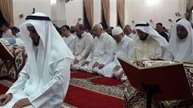 بالصور - آلاف المصلين تهجدوا فى بلال وجابر العلى والمزيني وموضي