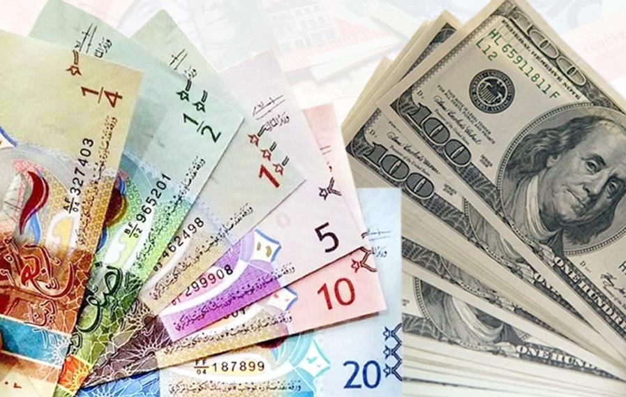 الدولار يستقر أمام الدينار عند واليورو يرتفع إلى