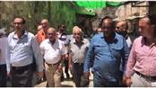 بالفيديو - مسيحيو القدس يتضامون مع المرابطين في الأقصى