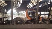 إسبانيا: إصابة 48 شخصاً في حادث اصطدام بمحطة قطارات برشلونة