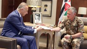 العاهل الأردني يتسلم دعوة إلى مؤتمر «إعادة إعمار العراق» الذي تستضيفه بالكويت