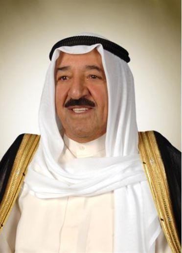 حضرة صاحب السمو أمير البلاد الشيخ صباح الأحمد الجابر الصباح