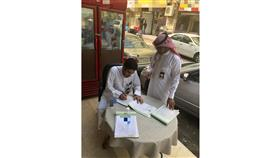 «إشغالات الطرق»: 28 محضر مخالفة بالأحمدي