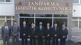 اللواء الشيخ سالم النواف يلتقي قائد الدعم اللوجستي لقوات الدرك التركية في أنقرة