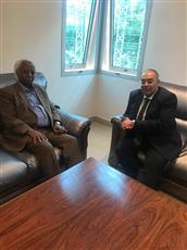 «اتحاد الرياضة» و«التعليم العالي» يجتمعان بأمين عام الاتحاد العربي للرياضة بالمغرب