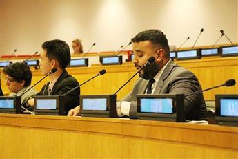 السكرتير الثاني في وفد الكويت الدائم لدى الأمم المتحدة عبدالله الشراح