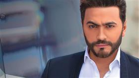 النجم المصري تامر حسني