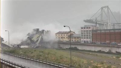 إيطاليا.. انهيار جزء من جسر في جزيرة سردينيا جراء الأمطار الغزيرة