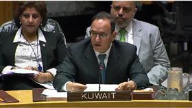 المندوب الدائم للكويت السفير منصور العتيبي