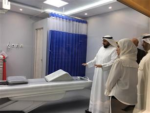 وزير الصحة الشيخ الدكتور باسل حمود الصباح يطلع على تجهيزات مركز حوادث وطوارئ مدينة (صباح الأحمد) السكنية