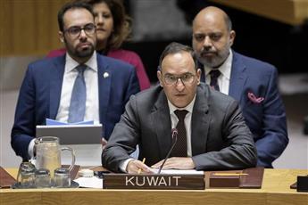 مندوب الكويت الدائم لدى الامم المتحدة السفير منصور العتيبي