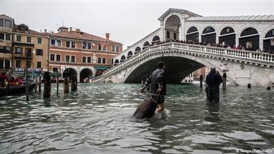 أمطار وفيضانات غير مسبوقة في إيطاليا